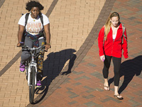 ECU recognized as bicycle friendly university