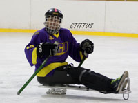 ECU hosts sled hockey clinic