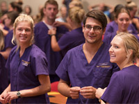 Ceremony welcomes students to nursing