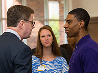 Students meet with Chancellor-elect Staton