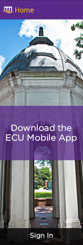 ECU Mobile App Ad